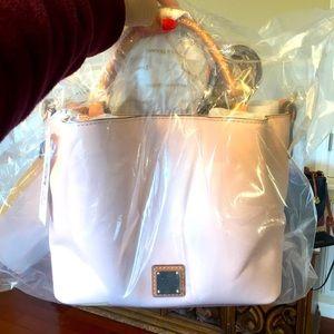 Brand new Dooney & Bourke small pink Brenna